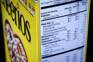 Calorie label