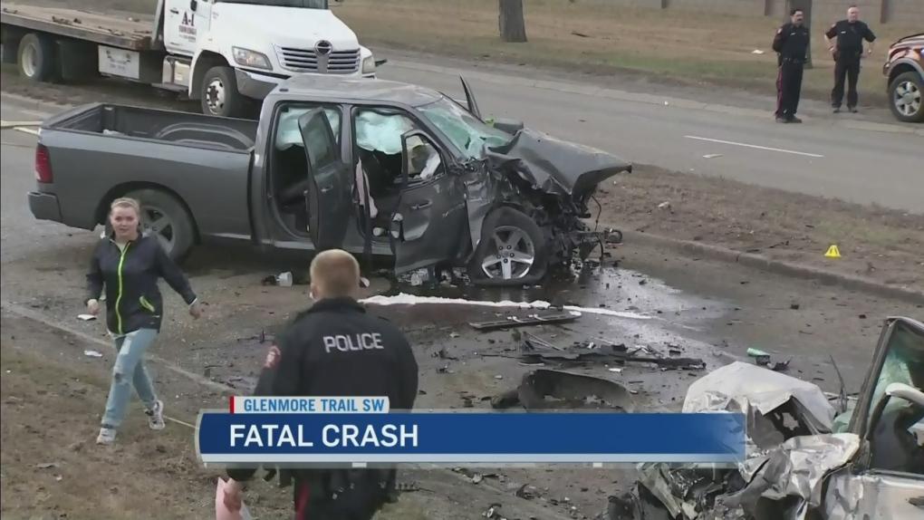 Man killed in Glenmore crash | CTV News
