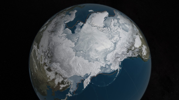 Arctic Ice Cover Reaches Second Lowest Minimum on Record
