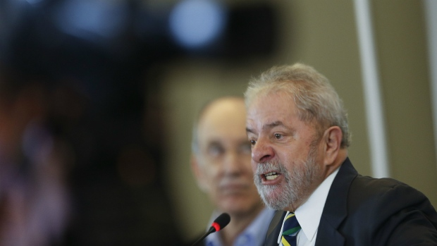 Lula da Dilva defends Brazil's current president