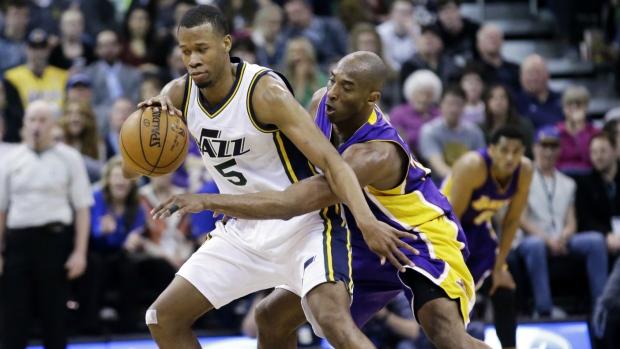 0ae58ce17f77 NBA scores  Utah Jazz hand Kobe Bryant worst loss of career