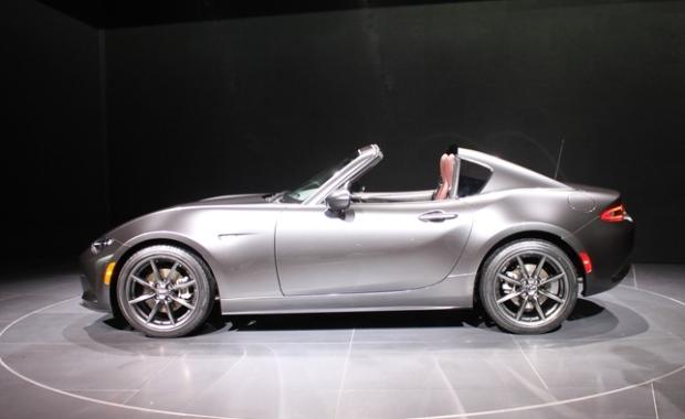 Mazda Miata MX-5 RF retractable hardtop
