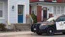 Police investigate the death of a 22-month-old boy at a home on Main Street in Atwood on Monday, March 28, 2016.