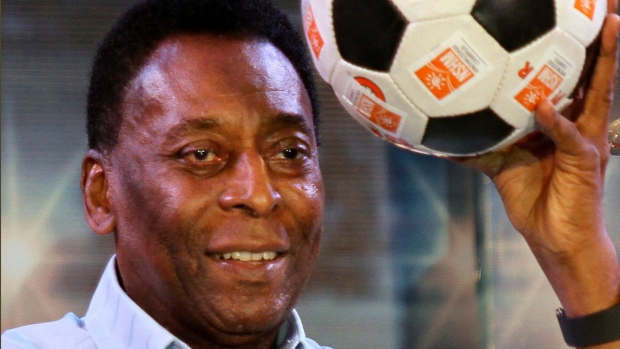 Brazil legend Pele 'feeling better' after treatment for urinary infection