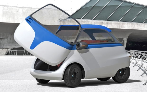 Microlino electric microcar planned for Europe