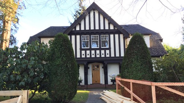 The beautiful 4,592 square-foot , five-bedroom, five-bathroom heritage home in Vancouver's prestigious Shaughnessy neighbourhood was just listed for $7.38-million - but may be demolished. (CTV News).