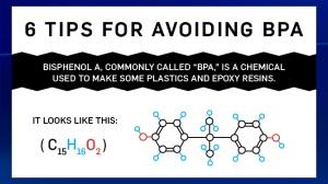 Tips to avoid BPA