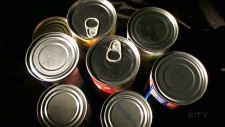 Report on BPA found in food products