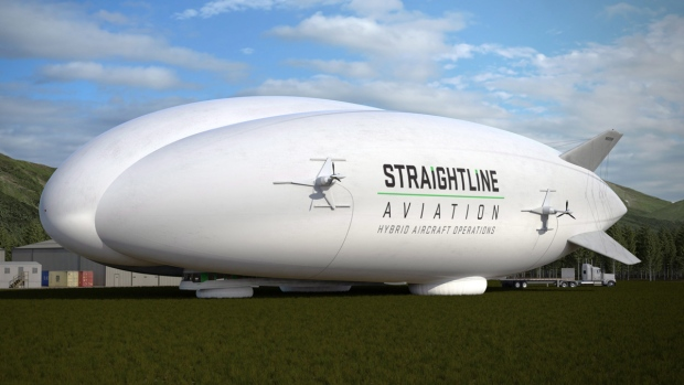 Straightline Aviation hybrid aircraft