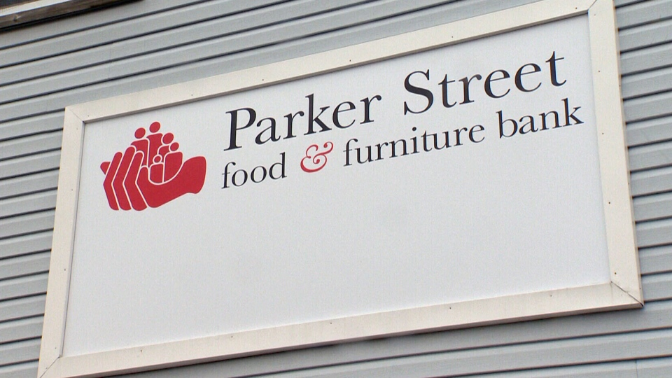 Parker Street Food and Furniture Bank is asking for applicants to provide their health card number and birth date, as well as income history and a long list of household expenses.