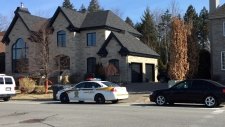 Police raided this house on Prucheraie St.