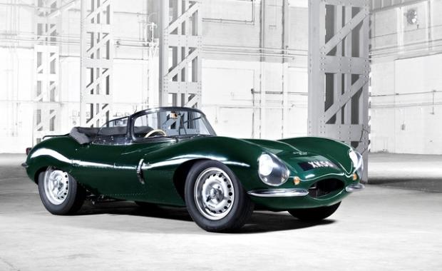 Jaguar Building Nine New 1957 XKSS Sports Cars