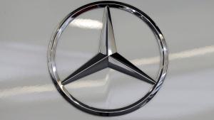 FILE - A Mercedes logo is shown on Wednesday, Nov. 4, 2015. (AP Photo/Gene J. Puskar)