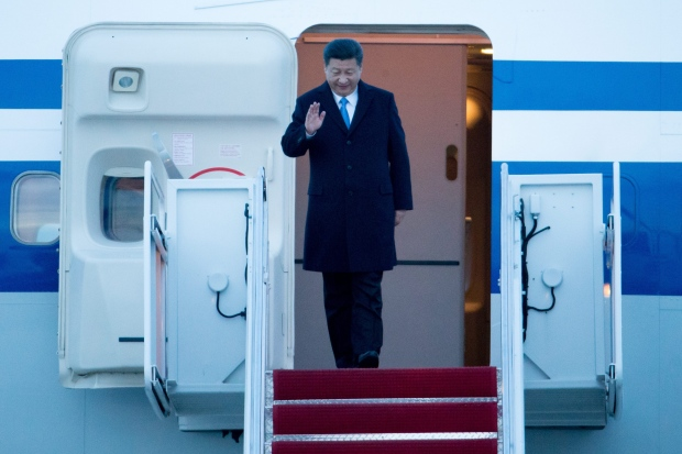 Xi Jinping arrives for Nuclear Security Summit