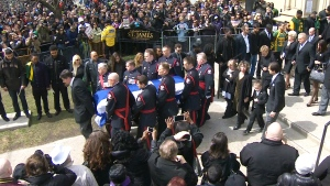 CTV National News: Final goodbye for Rob Ford