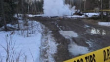 House fire at Pikangikum First Nations