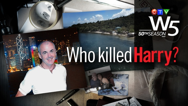 This week W5 investigates a murder mystery that spans the globe. Harry Doyle was a successful businessman from New Brunswick, who sought love in the Philippines. That's where he was murdered, by the sea at a tropical resort. And the search for his killers stretches from Asia back here to Canada. Kevin Newman reports.