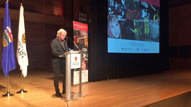 Tom Cochrane, who recorded with EMI Music Canada, announces the donation of the label's archives to the U of C