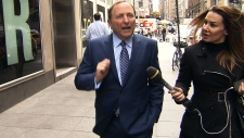 Gary Bettman in New York City