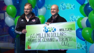 CTV News Channel: Toronto man $60M richer