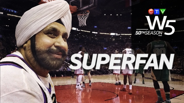 The Toronto Raptors have a lot of fans across Canada, but in Toronto, there is only one official Superfan. W5 profiles Nav Bhatia, who takes fandemonium to a new level.