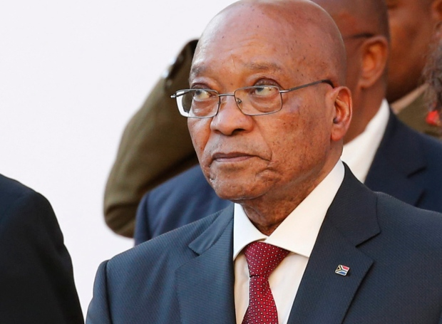 In this file photo taken Thursday, Feb 11, 2016 President Jacob Zuma, arrives at Parliament in Cape Town, South Africa, for the State Of The Nation address. (AP / Mike Hutchings)