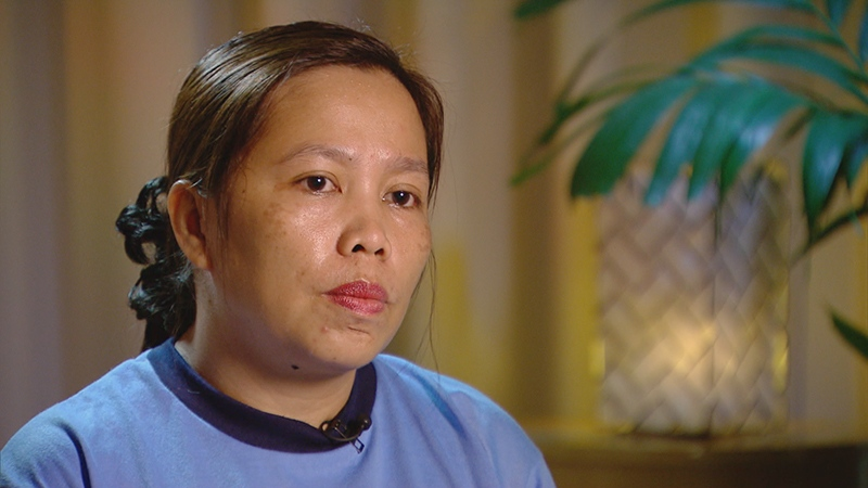 The murder investigation was led in the Philippines by Officer Rose-Marie Almazan, who sat down with W5.