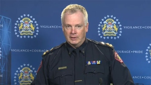 Calgary Chief Constable Roger Chaffin