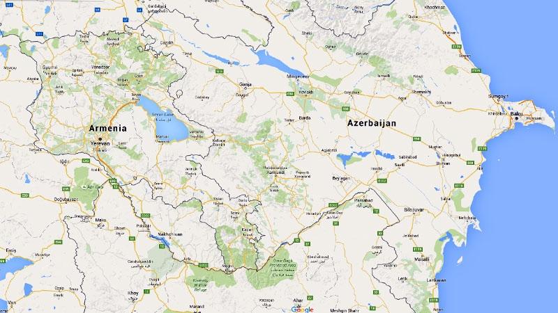 Nagorno-Karabakh region between Armenia Azerbaijan