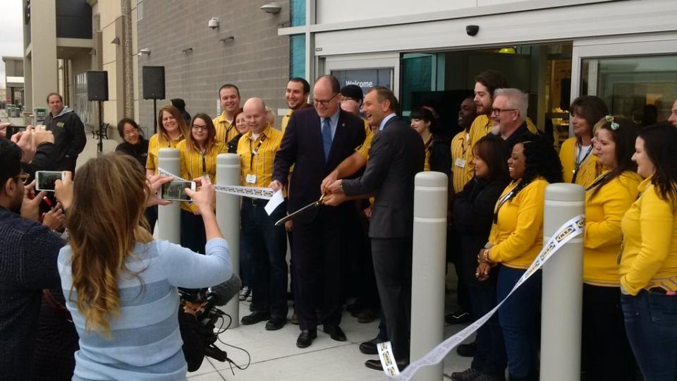 Ikea Windsor opening