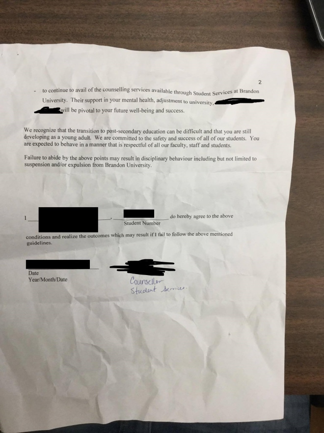 Pleasing Behavioural Contract For Sex Assault Victims A Mistake Brandon U Hairstyles For Men Maxibearus