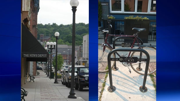 New streetlights and bike racks among the improvements scheduled for Kensington.