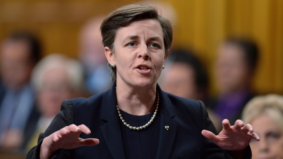 Kellie Leitch during Question Period in the House of Commons in Ottawa, on May 13, 2015.  (Sean Kilpatrick / THE CANADIAN PRESS)