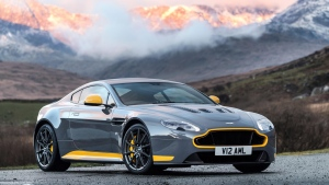The Aston Martin V12 Vantage S with manual transmission. (Photo from Aston Martin Lagonda Ltd.)