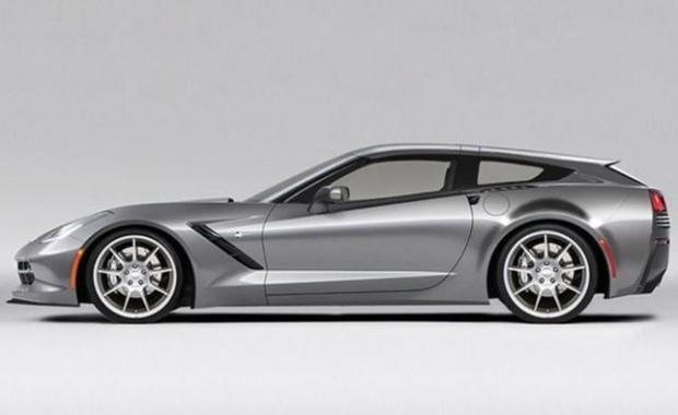 Callaway Corvette AeroWagon conversion