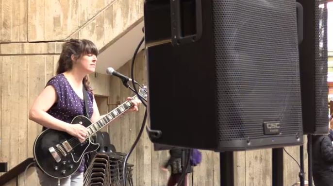 Kazoo Music Festival kicks off with a performance from Julie Doiron .