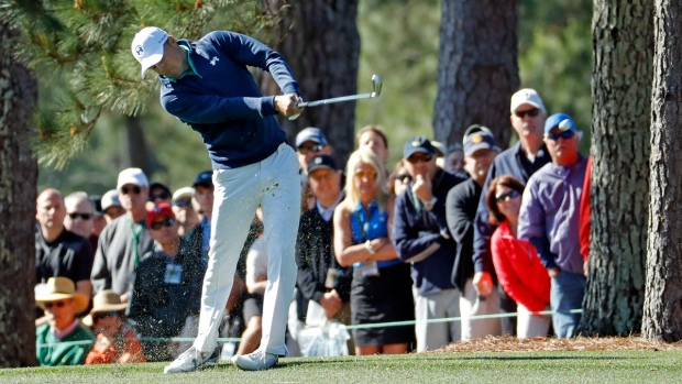 db03a099a0f3fc Jordan Spieth picks up where he left off at Augusta National