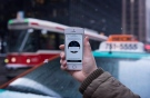 A screenshot of the Uber ride-sharing app showing surge pricing in effect is shown in Toronto,Tuesday, Jan. 12, 2015. (Graeme Roy/THE CANADIAN PRESS)