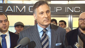 CTV News Channel: Bernier enters the race