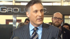 MP Maxime Bernier launches Tory leadership bid