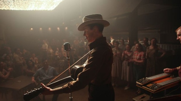 Tom Hiddleston as Hank Williams in I Saw the Light. (Sony Pictures Classics)