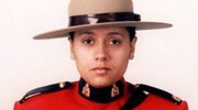 RCMP Const. Sarah Beckett is shown in a handout photo. (HO-BC RCMP/The Canadian Press)