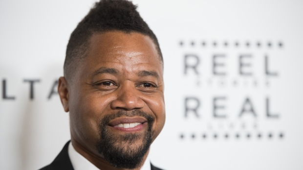 """Actor Cuba Gooding Jr. attends the 5th Annual """"Reel Stories, Real Lives"""" event benefiting the Motion Picture & Television Fund, April 7, 2016 at MILK Studios in Hollywood, California. ( ROBYN BECK / AFP)"""