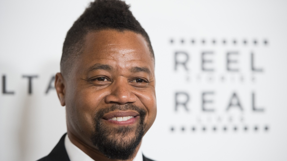 "Actor Cuba Gooding Jr. attends the 5th Annual ""Reel Stories, Real Lives"" event benefiting the Motion Picture & Television Fund, April 7, 2016 at MILK Studios in Hollywood, California. ( ROBYN BECK / AFP)"