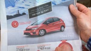 Ad for a Honda Fix DX