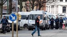 House search in Etterbeek neighborhood in Brussels