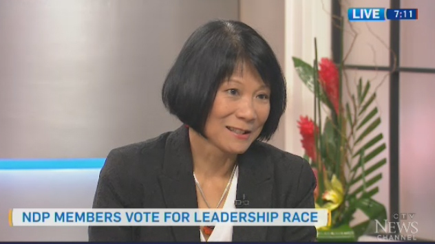 Former NDP MP Olivia Chow speaks to CTV's Canada AM, April 11, 2016.