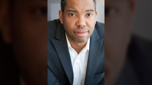 This undated image released by Marvel Comics shows author Ta-Nehisi Coates. (Nina Subin / Marvel Comics via AP)