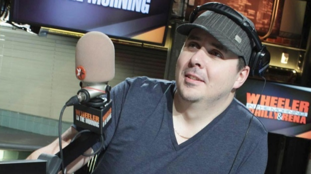 "Winnipeg radio host Dave Wheeler was suspended after videos posted online were called ""sexist"" and ""racist."" (Photo via Twitter)"