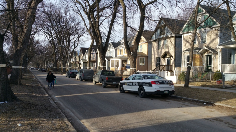 Police were still on scene in the 400 block of Victor Street around 8 a.m. Tuesday.
